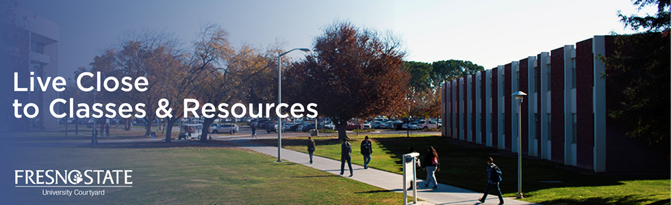 Live Close to Classes & Resources
