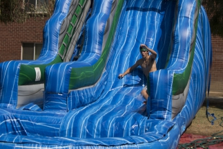 Water Slides & Pool Party